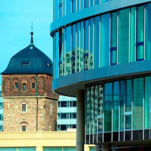 Mittelstandsmeile Bliock zum Roten Turm