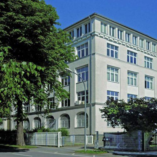 Der Institutsgebäude des Cetex Institutes an der Altchemnitzer Str. 11 in Chemnitz.