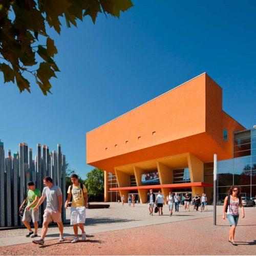 Neues Hörsaalgebäude an der TU Chemnitz